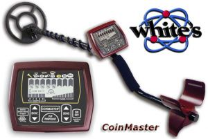 METAL DETECTOR WHITES COINMASTER