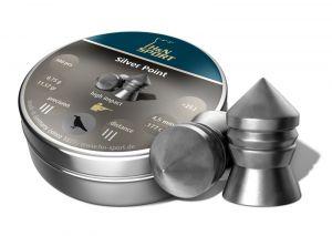 Air gun pellets H & N Silver Point 4.5 mm.