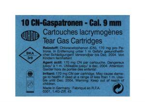 Gas Cartridges CN Cal. 9mm Revolver