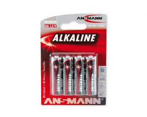 Alkaline batteries LR6 / MIGNON ANSMANN REDLINE 4B
