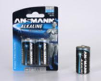Alkaline batteries LR14 / Baby C ANSMANN