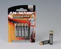 Alkaline batteries Premium AAA / R03 blister 4