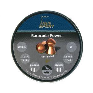 Air gun pellets H & N Baracuda Power 5.5 mm.
