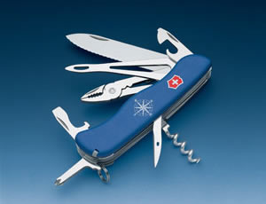 KNIFE Victorinox Mod. Skipper with safety cord
