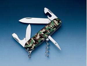 KNIFE Victorinox Mod. Spartan Camouflage handle