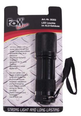 LED FLASHLIGHT BLACK