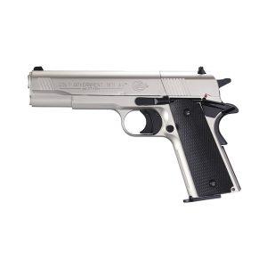 Въздушен пистолет COLT GOVERNMENT 1911 A1 NICKEL CO2 4.5 мм