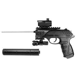 Въздушен пистолет GAMO P-25 BLOWBACK TACTICAL 4.5мм.