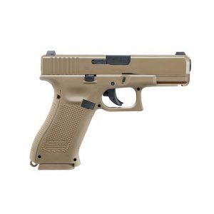 Въздушен пистолет Glock 19X NBB с CO2, cal. 4,5 mm Coyote